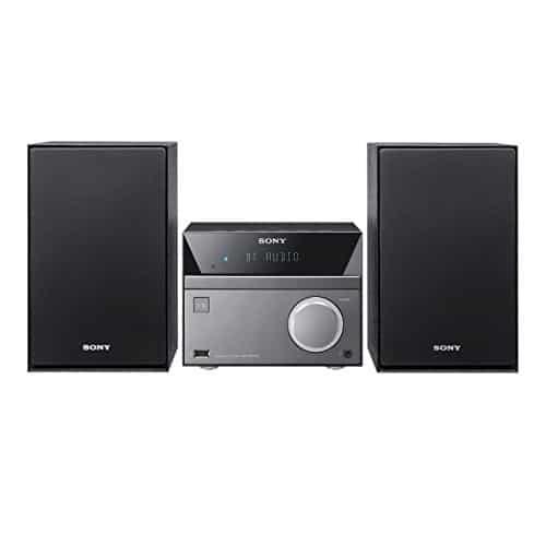 Sony CMT-SBT40D Micro-HiFi System (50 Watt, CD/DVD-Player, FM/AM-Tuner, Bluetooth, NFC, USB) schwarz