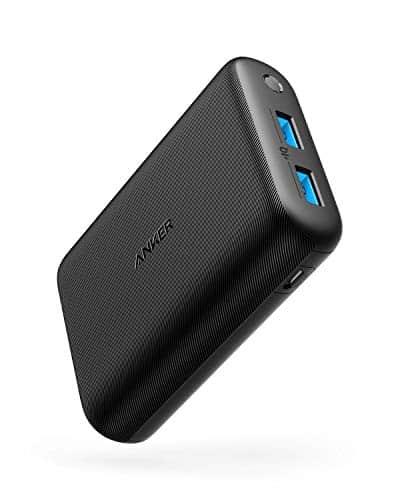 Anker PowerCore 15000 Redux, Kompakte 15000mAh 2-Port Powerbank mit PowerIQ und Voltageboost Technologie, für iPhone, iPad, Samsung Galaxy und viele mehr