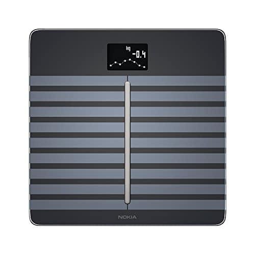 Nokia Body Cardio - WLAN-Körperwaage für Herzgesundheit und Körperzusammensetzung, schwarz