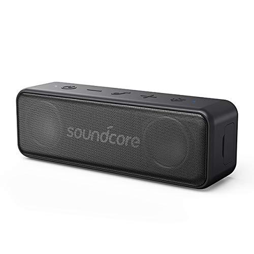 Soundcore Motion B Tragbarer Bluetooth Lautsprecher von Anker, Kompaktes Design mit 12W Stereo Sound und starker BassUp Technologie, 12 Stunden Akkulaufzeit, IPX7 Wasserdichte, für Zuhause, Draußen
