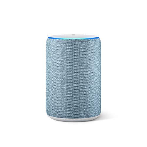Amazon Echo (3. Generation), smarter Lautsprecher mit Alexa, Anthrazit Stoff