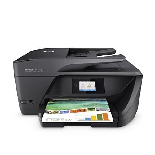 HP OfficeJet Pro 6960 Multifunktionsdrucker (Drucker, Scanner, Kopierer, Fax, HP Instant Ink Ready, WLAN, LAN, Airprint) schwarz