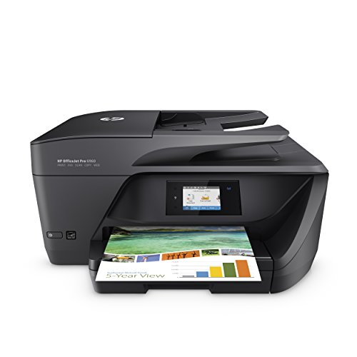 HP OfficeJet Pro 6960 Multifunktionsdrucker (Drucker, Scanner, Kopierer, Fax, WLAN, LAN, Airprint) mit 3 Probemonaten HP Instant Ink inklusive