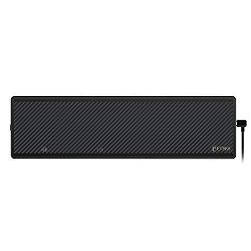 pitaka MagEZ Bar magnetisches drahtloses Qi Ladegerät zur Wandmontage Fast Wireless Charger Induktive Ladestation Schnellladestation tägliche Notwendigkeiten aufbewahren