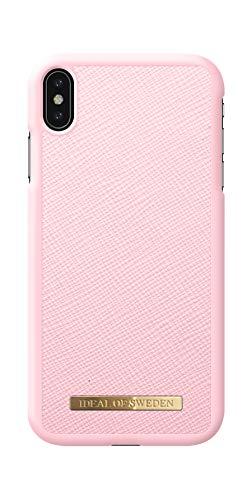 iDeal Of Sweden Handyhülle für iPhone X/XS (Saffiano, Vegan Leather) (Pink)