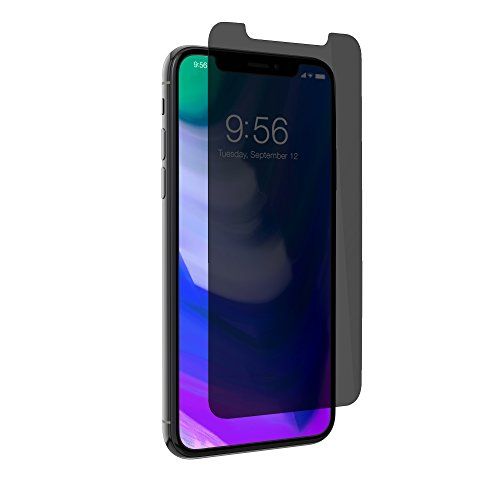InvisibleShield Glass+ Privacy Displayschutzfolie aus gehärtetem Glas für iPhone X