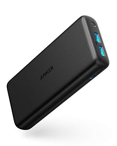 Anker PowerCore Lite 20000mAh Powerbank, für iPhone X 8 8Plus 7 6s 6Plus, iPad, Samsung Galaxy