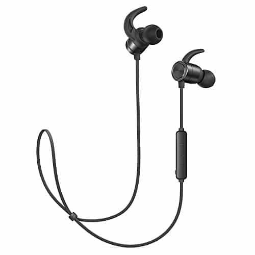 TaoTronics Bluetooth Kopfhörer Kabellose Headset 4.1 9 Stunden IPX6 Wasser- & Schweißgeschützt In Ear Kopfhörer CNC-Verarbeitung unterstützt OTG-Laden für iPhone, iPad, Samsung, Huawei usw.