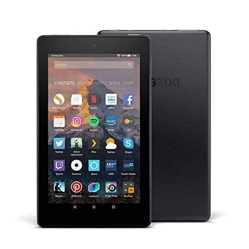 Fire 7-Tablet, 8 GB, Schwarz, ohne Spezialangebote (vorherige Generation - 7.)
