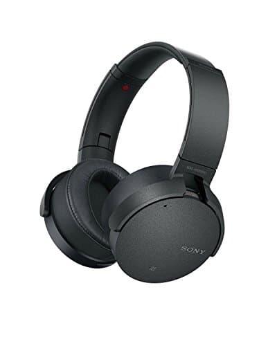 Sony MDR-XB950N1 kabelloser Kopfhörer mit Geräuschminimierung (Noise Cancelling, Extrabass, NFC, Bluetooth, faltbar), schwarz
