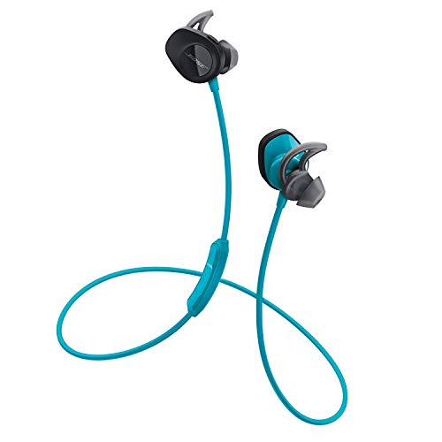 Bose SoundSport, kabellose Sport-Earbuds, (schweißresistente Bluetooth-Kopfhörer zum Joggen), Blau