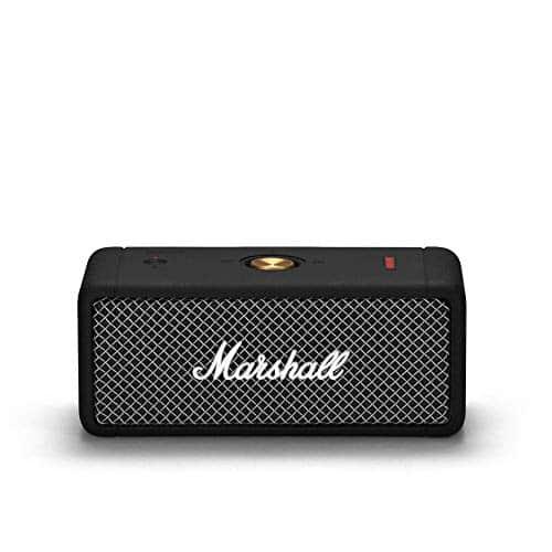 Marshall Emberton Tragbarer Lautsprecher - Schwarz, One size