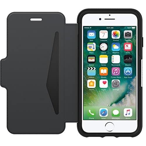 OtterBox Strada sturzsichere Folio Leder Schutzhülle für iPhone 7 / 8