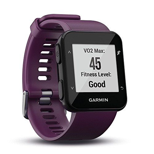 Garmin Forerunner 30 GPS-Laufuhr, Herzfrequenzmessung am Handgelenk, Smart Notifications, Connected Features, Lauffunktionen, 010-01930-05