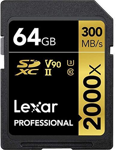 Lexar Professional 2000x 64GB SDXC UHS-II Speicherkarte