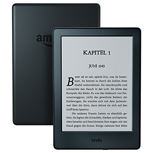 Kindle eReader, 15,2 cm (6 Zoll) Touchscreen ohne Spiegeleffekte, WLAN (Schwarz) - mit Spezialangeboten