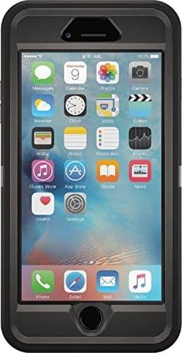 OtterBox Defender Schutzhülle (geeignet für Apple iPhone 6 plus/6s plus) schwarz
