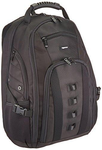 AmazonBasics Adventure Laptop-Rucksack, für Laptops mit bis zu 43 cm (17 Zoll)