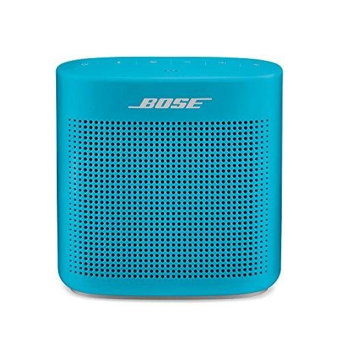 Bose SoundLink Color Bluetooth speaker II - Tragbaren Bluetooth-Lautsprecher (Wasserabweisend), Blau