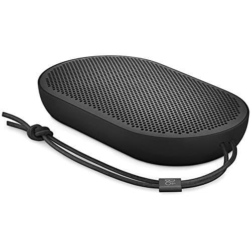 B&O PLAY by Bang & Olufsen Beoplay P2 Tragbarer Bluetooth-Lautsprecher (mit integriertem Mikrofon) schwarz