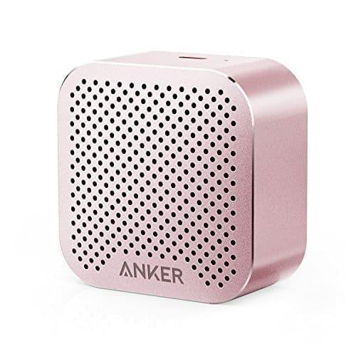 Anker SoundCore nano Super Kleiner Bluetooth Lautsprecher Wireless Speaker mit Großen Sound und Mikrofon für iPhone, iPad, Samsung, Nexus, HTC, Laptops und weitere(Rosa)