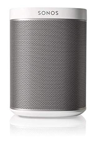 Sonos Play:1 Smart Speaker, weiß - Kompakter & kraftvoller WLAN Lautsprecher für unbegrenztes Musikstreaming - Feuchtigkeitsbeständiger Multiroom Lautsprecher