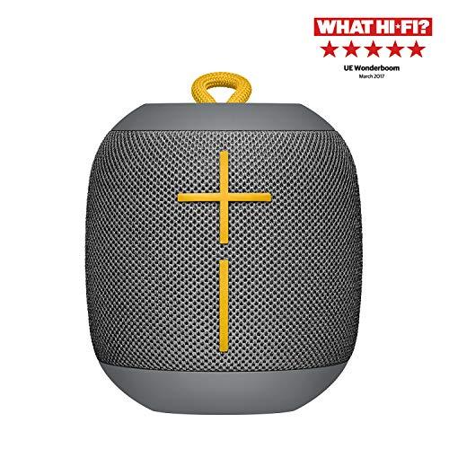 Ultimate Ears Wonderboom 1 Bluetooth Lautsprecher (wasserdichter 360°-Sound) - grau