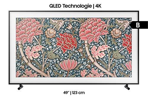 Samsung LS03R The Frame 123 cm (49 Zoll) QLED Lifestyle Fernseher (Art Mode, Ultra HD, HDR, Smart TV) [Modelljahr 2019]