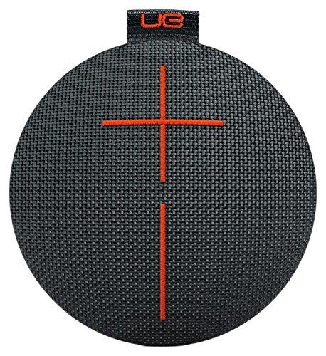 Ultimate Ears Roll 2 Bluetooth Lautsprecher (Tragbar mit Floatie, Wasserdicht und Stoßfest) Schwarz, Orange