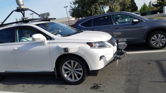 Apple selbstfahrendes Testauto