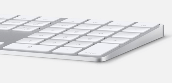 Apple Magic Keyboard mit Ziffernblock thumb