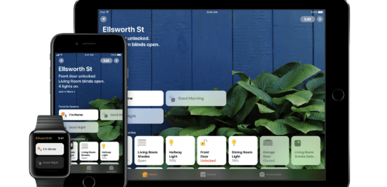 HomeKitHomeKit auf iPhone iPad und Apple Watch