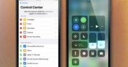 Kontrollzentrum iOS 11 anpassen