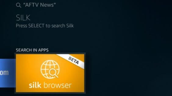 Amazon Fire TV Browser | AFTVnews