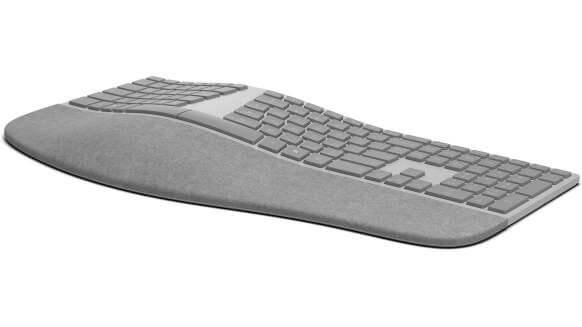Microsoft Surface Ergonomic Keyboard thumb