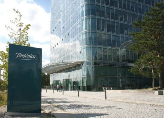 Telefónica Zentrale in München