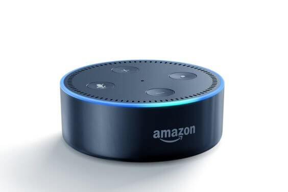 Amazon Echo Dot Schwarz