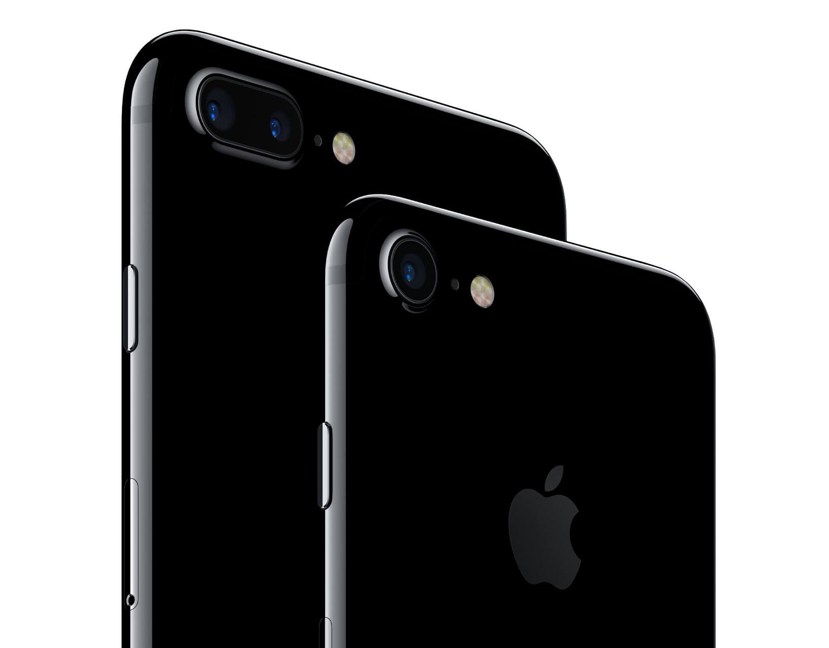 iPhone 7 und iPhone 7 Plus in Jetblack