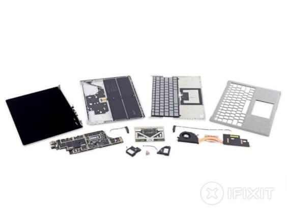 Microsoft Surface Laptop auseinandergenommen | iFixit