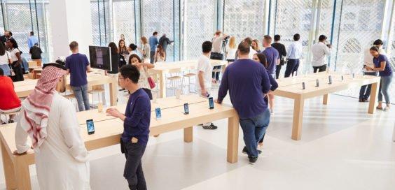 Apple Store von innen
