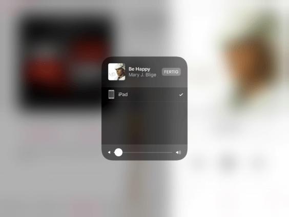 iOS 11 AirPlay