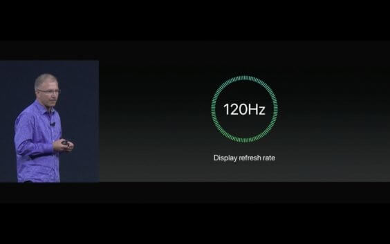WWDC - iPad Pro 2017 mit 120 Hz-Display - Screenshot - WakeUp Media