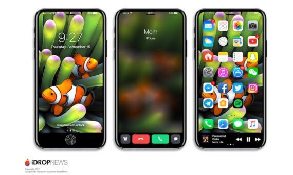 iPhone- 8Function Area - iDrop-News
