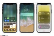 iPhone 8 Rendering mit iOS 11 / iDROPNEWS