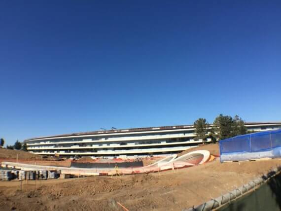 Foto Apple Park Baustelle, Juni 2017