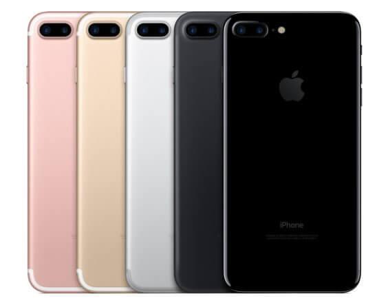iPhone 7 Plus Familie