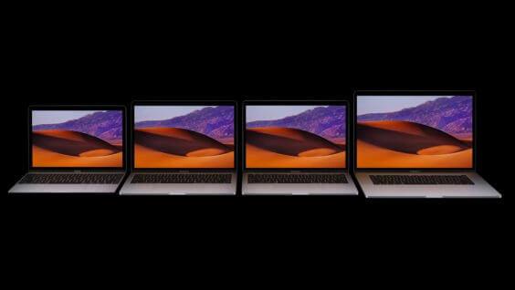 MacBook Pro-Familie 2017 - Apple