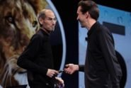Steve Jobs und Scott Forstall | 9to5mac