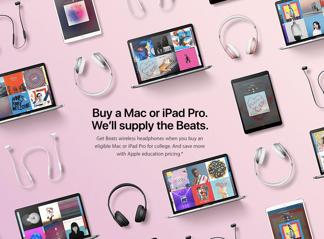 Apple Back to School 2017 Aufmacher