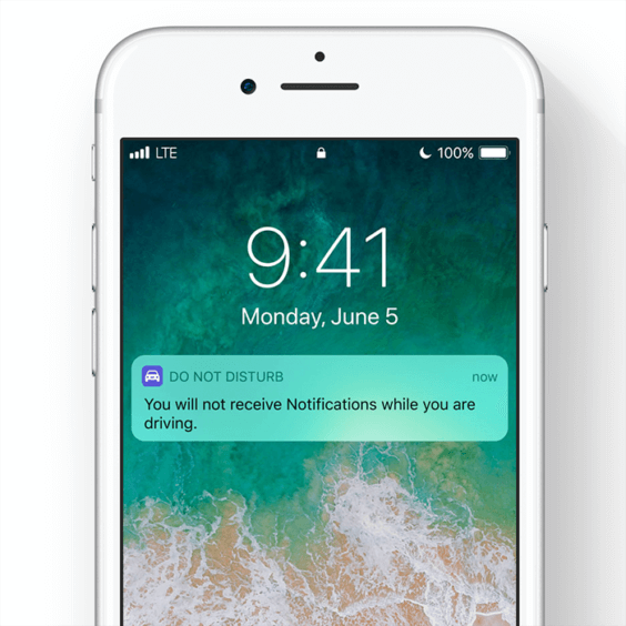 Screenshot von Do Not Disturb While Driving in iOS 11